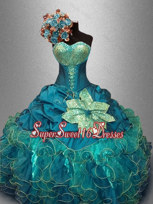 Pretty Sweetheart Quinceanera Dresses with Sequins