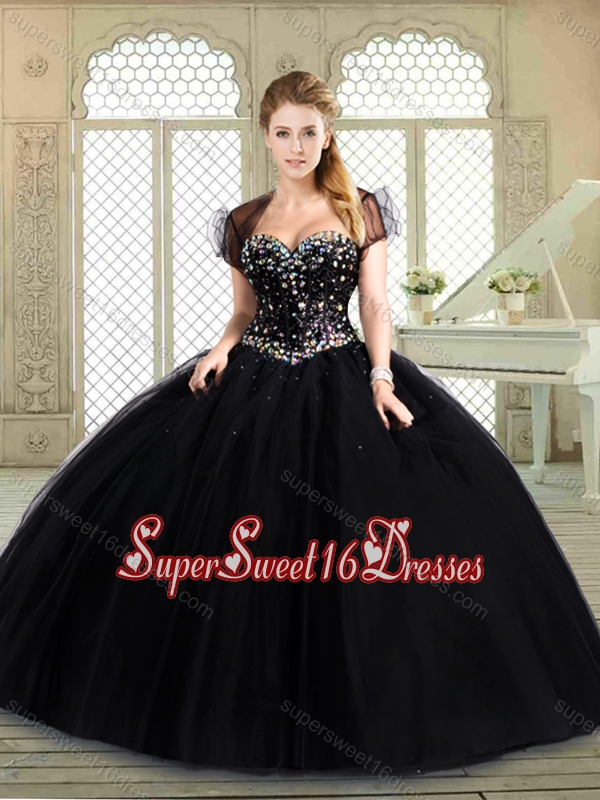 Pretty Sweetheart Quinceanera Dresses with Beading
