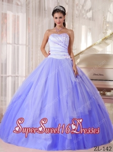Affordable Ball Gown Sweetheart Beading Elegant Sweet 16 Dresses in White and Blue