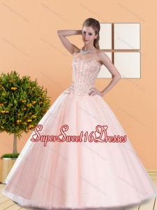2015 Classical Ball Gown Military Ball Dresses with Beading