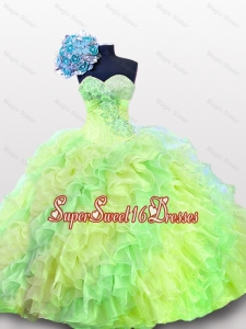 2015 Pretty Sweetheart Quinceanera Gowns in Multi Color