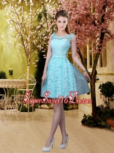 Discount A Line 2016 Dama Dresses with Appliques