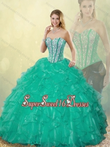 New Style Sweetheart Detachable Quinceanera Dresses with Floor Length