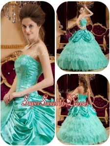 Summer Perfect Pick Ups and Ruffles Quinceanera Gowns