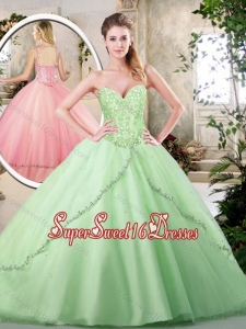 Perfect Ball Gown Sweet 16 Dresses with Appliques
