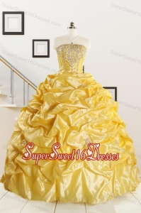 Most Popular Beading Quinceanera Dresses for 2015