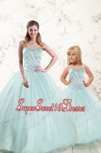 Remarkable Tulle Ball Gown Princesita Dress with Beading