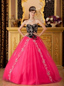 Brand new Hot Pink Sweet 16 Dress Sweetheart Tulle Beading / Princess
